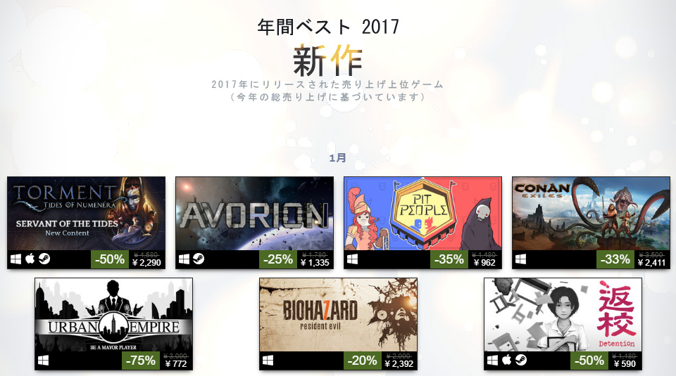 steam-top-new-release-2017