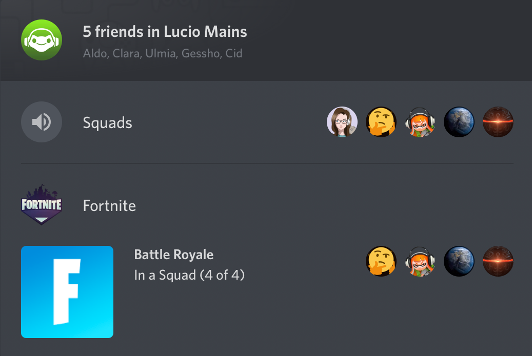 Discord Now Playing