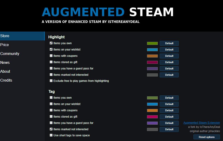 Augmented Steam2