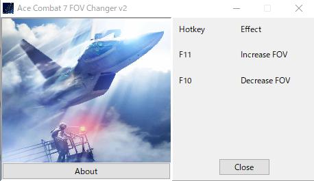 acecombat7 fov changer