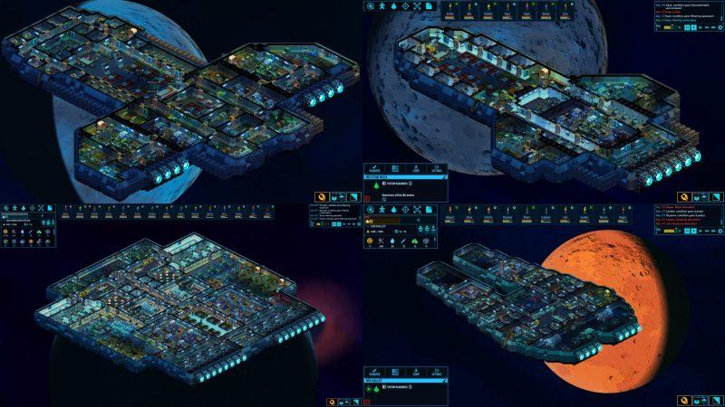 Space Havenで作られたさまざまな宇宙船(出典:公式サイト)